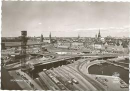 W3649 Stockholm - Slussen - Tram / Non Viaggiata - Svezia