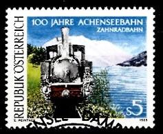 Autriche 1989 Mi.Nr: 1962 150.Jahre Achenseebahn  Oblitèré / Used / Gebruikt - 1945-.... 2nd Republic
