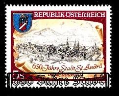 Autriche 1989 Mi.Nr: 1960 Stadt St.Andrä Im Laventtal  Oblitèré / Used / Gebruikt - 1945-.... 2nd Republic