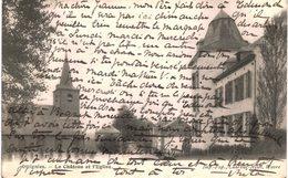OTTIGNIES    Le Château Et L' église - Ottignies-Louvain-la-Neuve