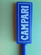 227 - Touilleur - Agitateur - Mélangeur à Boisson - Apéritif Campari - Bleu - Swizzle Sticks