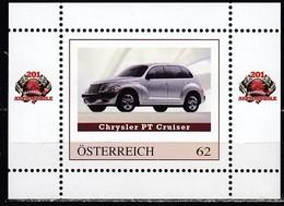 ÖSTERREICH  ** Chrysler PT Cruiser - PM Personalized Block MNH - Voitures
