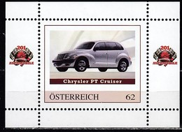 ÖSTERREICH  ** Chrysler PT Cruiser - PM Personalized Block MNH - Autos