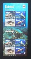Samoa 2016; WWF Animals, Reptiles, Turtles, Marine Life; MNH /** VF; - W.W.F.