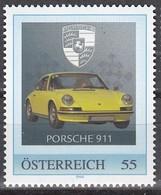 ÖSTERREICH  ** Porsche 911 - PM Personalized Stamp MNH - Autos