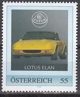 ÖSTERREICH  ** Lotus Elan - PM Personalized Stamp MNH - Autos