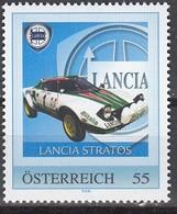 ÖSTERREICH  ** Lancia Stratos - PM Personalized Stamp MNH - Autos