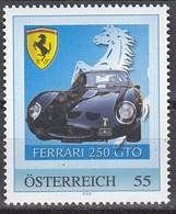 ÖSTERREICH  ** Ferrari 250 GTO- PM Personalized Stamp MNH - Autos