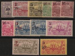 Nouvelle Calédonie - 1924-27 - N°Yv. 127 à 138 - Série Complète - Neuf Luxe ** / MNH / Postfrisch - Neukaledonien