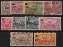 Nouvelle Calédonie - 1924-27 - N°Yv. 127 à 138 - Série Complète - Neuf Luxe ** / MNH / Postfrisch - Nueva Caledonia