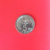 5 Sen Münze Aus Malaysia Von 1997 (vorzüglich) - Malaysia
