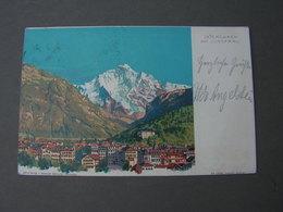 Interlaken Mit Jungfrau   1904 - BE Bern