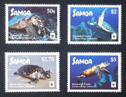 Samoa 2016; WWF Animals, Reptiles, Turtles, Marine Life; MNH /** VF; High Value! - W.W.F.