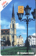 SERBIA - Novi Sad, Telecom Srbija Telecard 200 Din, 03/02, Used - Landscapes