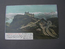 Rigi Karte 1904 - ZG Zug