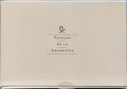 PAISAJES DE LA ARGENTINA, PACK DE 8 ENTEROS POSTALES. ARGENTINA 2002. ENTIER POSTALE COMPLETE SERIE SPECIAL SET - LILHU - Argentina