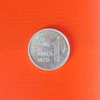 1 Won Münze Aus Südkorea Von 1970 (sehr Schön) - Korea (Süd-)