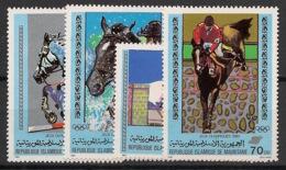 Mauritanie - 1980 - N°Yv. 462 à 465 - Olympics / Moscou 80 - Neuf Luxe ** / MNH / Postfrisch - Mauritania (1960-...)