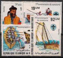 Mauritanie - 1982 - N°Yv. 496 à 499 - Scoutisme - Neuf Luxe ** / MNH / Postfrisch - Scoutisme