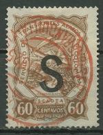 SCADTA 1923 Maschinenaufdruck Schwarz S = Schweiz LA668 Gestempelt - Colombia