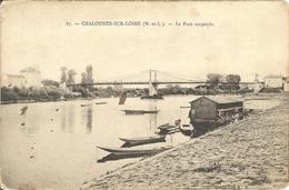 49 - CHALONNES SUR LOIRE - Pont Suspendu   8 - Chalonnes Sur Loire