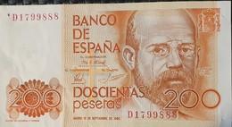 Spain 200 Pesetas 1980 - [ 4] 1975-… : Juan Carlos I