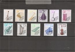 France ( Préos 213/223 XXX - MNh) - 1989-....
