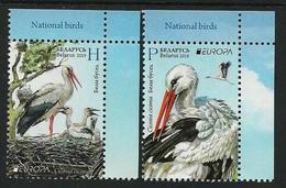 "BIELORRUSIA /BELARÚS /WEISSRUSSLAND - EUROPA 2019 -NATIONAL BIRDS.-""AVES -BIRDS -VÖGEL-OISEAUX""- SERIE CH-DER - 2019"