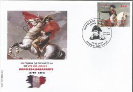 MK 2019-03C, FAMOUSE PERSONS NAPOLEON BONAPARTE, FDC - Napoleon