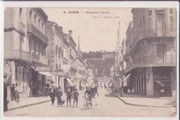 CPA - AGEN  - 6. Boulevard Carnot - Agen