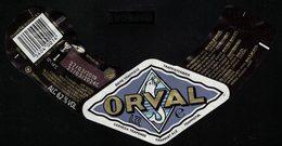 Belgique Étiquette Bière Beer Label Trappiste Orval - Bier