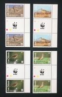 Cook Islands 2014; WWF Animals & Fauna; Wildlife; Tropical Birds; MNH, Neuf**, Postfrisch; Gutter Pairs! - Cook Islands