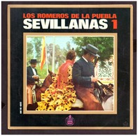 España. Disco De Vinilo A 45 Rpm. Los Romeros De La Puebla. Sevillanas 1. Por La Arena Adelante... Buena Condicion. - Vinyl Records