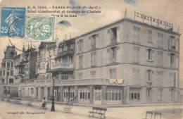 62 - PARIS-PLAGE - Hôtel Continental Et Groupe De Chalets - Le Touquet