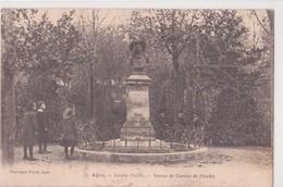CPA - 71. AGEN - Jardin Public, Statue De Cortete De Prades - Agen