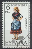 Espa�a-Spain. Pontevedra (o) - Ed 1950, Yv=1429 - 1961-70 Usados