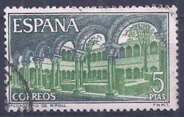 Espa�a-Spain. Monasterio De Ripoll (o) - Ed 2007, Yv=1641, Sc=1662, Mi=1900 - 1961-70 Usados