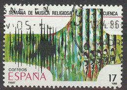 Espa�a-Spain. Musica Cuenca (o) - Ed 2841, Yv=2472 - 1931-Hoy: 2ª República - ... Juan Carlos I