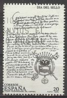 Espa�a-Spain. D�a Del Sello (o) - Ed 2999, Yv=2596 - 1931-Hoy: 2ª República - ... Juan Carlos I