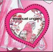 France N° 4327.a ** Ungaro -  Saint Valentin 2009 - Fleur Oiseau Perroquet - Découpe Du Bloc ( Infos) - Frankreich