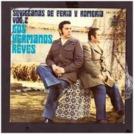 España. Disco De Vinilo A 45 Rpm. Los Hermanos Reyes. Sevillanas De Feria Y Romeria. A Un Perro... Condicion Media. - Sonstige - Spanische Musik