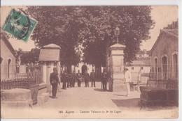 CPA - 149. AGEN - Caserne Valence Du 9e De Ligne - France