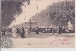 CPA - 17. AGEN - Promenade Du Gravier - Agen