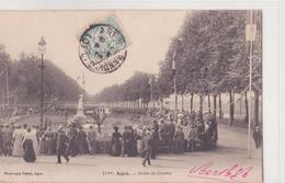 CPA - 17. AGEN - Jardin Du Gravier - Agen