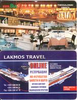 BULGARIA - Lakmos Travel, Bulfon Telecard 25 Units, Chip GEM6a, Tirage 27000, 01/05, Used - Bulgaria