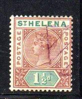 APR1603 - ST. HELENA 1890 ,  Yvert N. 22  Usato  (2380A). - Isola Di Sant'Elena