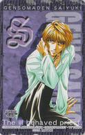 Télécarte Japon / 110-016 - MANGA - SAIYUKI By KAZUYA MINEKURA - ANIME Japan Phonecard - ** MOVIC ** - 11381 - BD