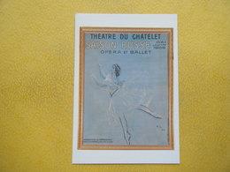 PARIS. Le Théâtre Du Châtelet. La Saison Russe. - Danse