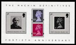 GREAT BRITAIN 2007 40th Anniversary Of Machins: Miniature Sheet UM/MNH - Blocchi & Foglietti