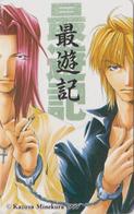 Télécarte Japon / 110-016 - MANGA - SAIYUKI By KAZUYA MINEKURA ** ONE PUNCH **  - ANIME Japan Phonecard  - 11386 - Stripverhalen